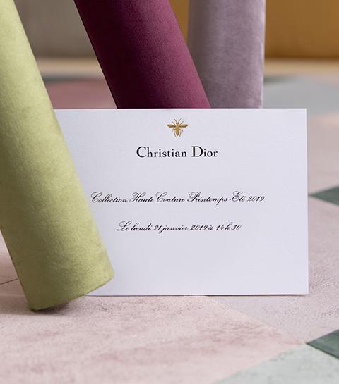 Dior Haute Couture: regardez le défilé en direct