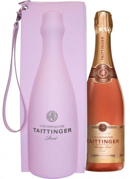 champagne rosé Taittinger pour saint-valentin chez soi