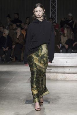 jupe crayon Act n°1 fashion week Milan FW19