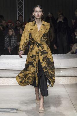 robe kimono Act n°1 fashion week Milan FW19