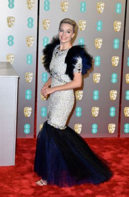 Margot Robbie en Chanel BAFTA 2019