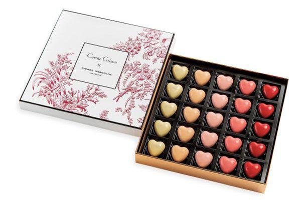 saint-valentin surprises chocolats