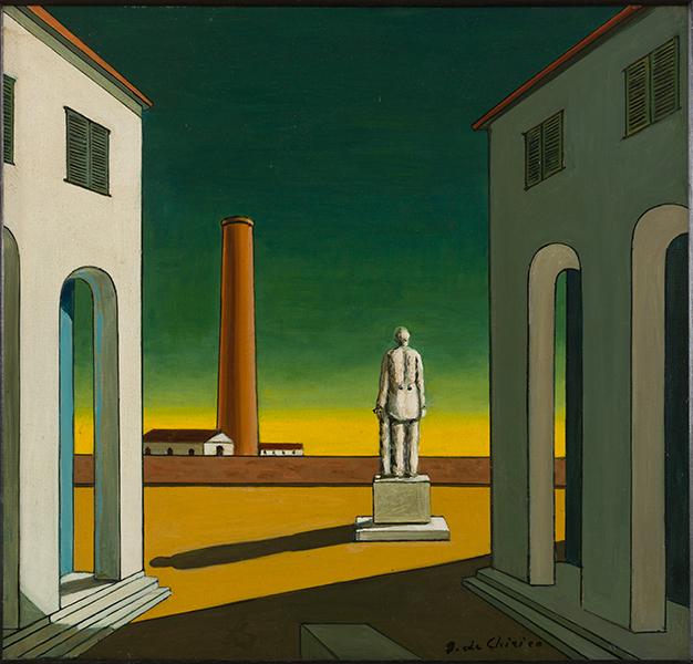 tableau de Giorgio de Chirico