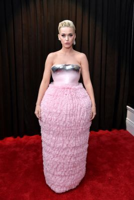 Katy Perry en Balmain Grammy Awards 2019