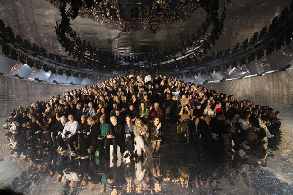 front row gucci fashion week milan FW19