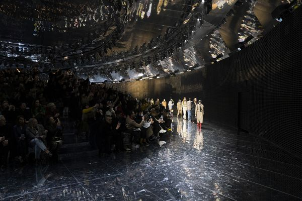 décor gucci fashion week milan FW19