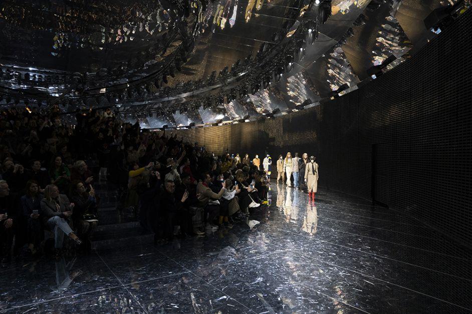 décor gucci fashion week milan FW19