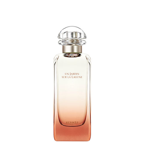 Flacon du parfum Un Jardin sur la Lagune d'Hermès.