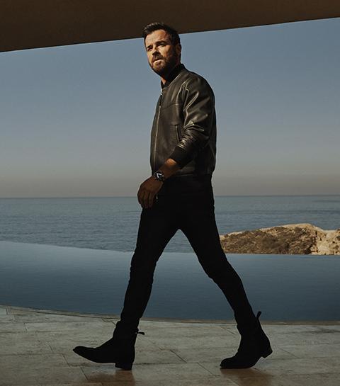 L'acteur Justin Theroux devient égérie Louis Vuitton