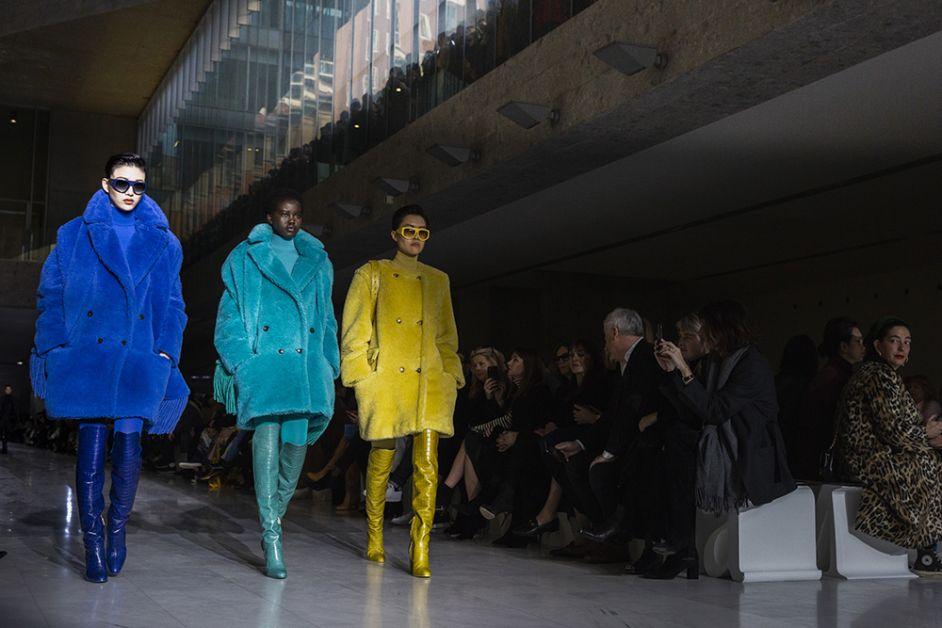 ouverture défilé Max Mara fashion week milan FW19