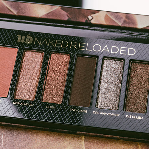 La palette Naked Reloaded d'urbanisme Decay.