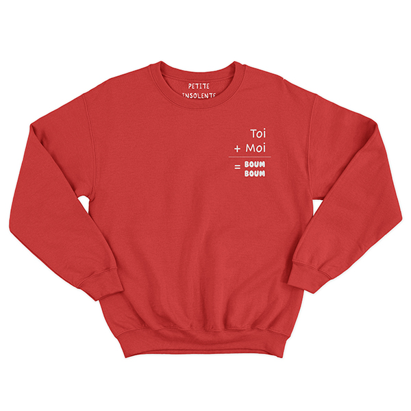 saint-valentin sweat-shirt