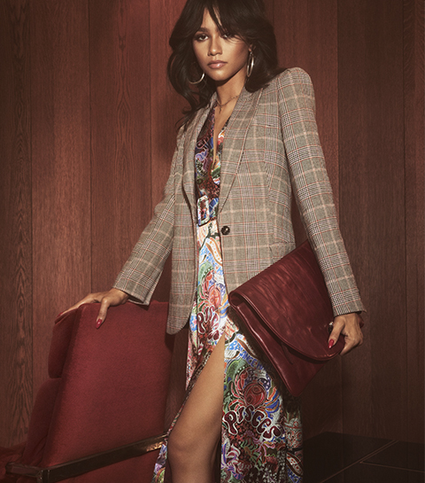 Crush: la collection capsule Tommy x Zendaya inspirée par les 70's