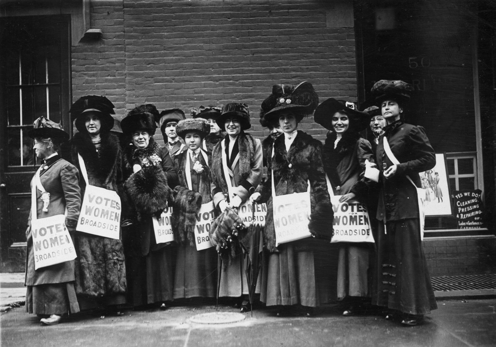 femmes vote