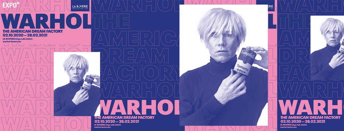 Expo Warhol - The American Dream Factory
