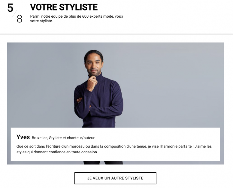 styliste Zalon Yves Sangara