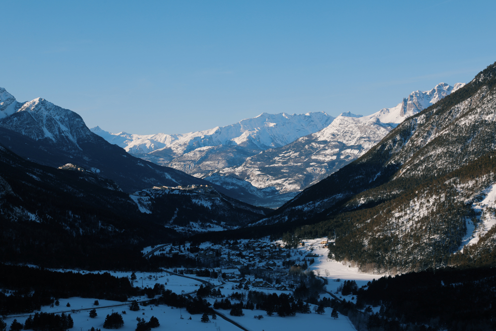 paysage montagne ski
