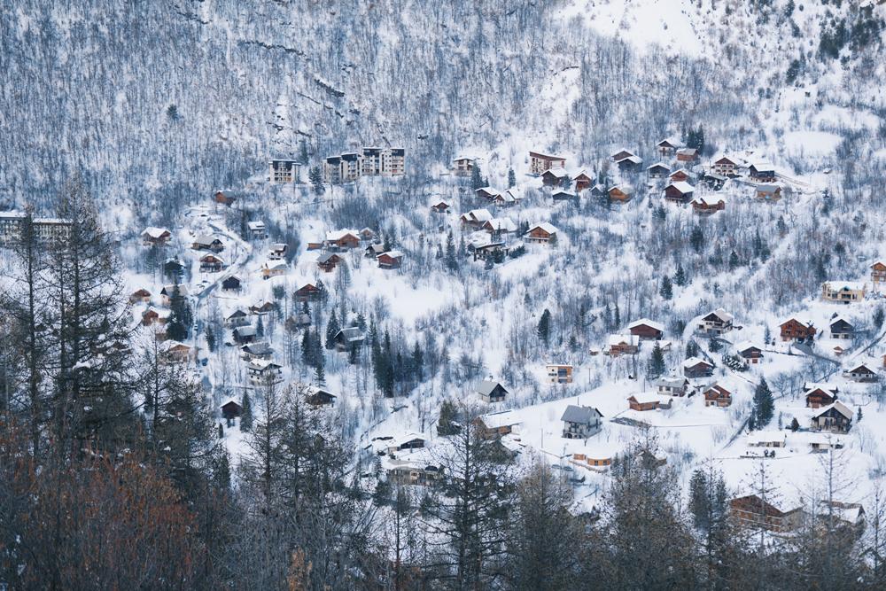 paysage montagne neige