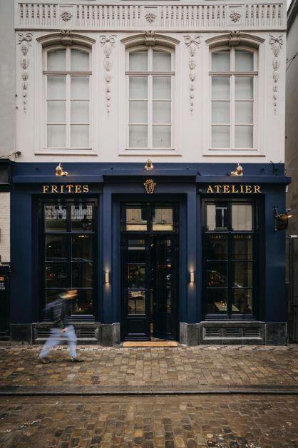 Photo de la façade de Frites Atelier de Sergio Herman