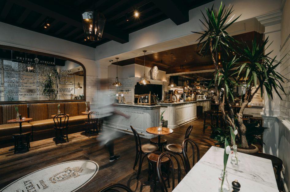 Photo de l'intérieur du restaurant Frites Atelier de Sergio Herman
