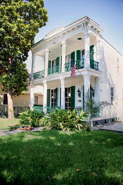 Une maison typique de la Nouvelle Orléans.