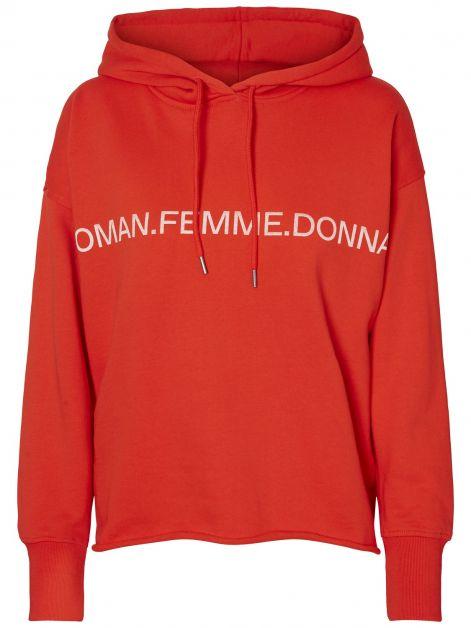sweatshirt rouge Vero Moda