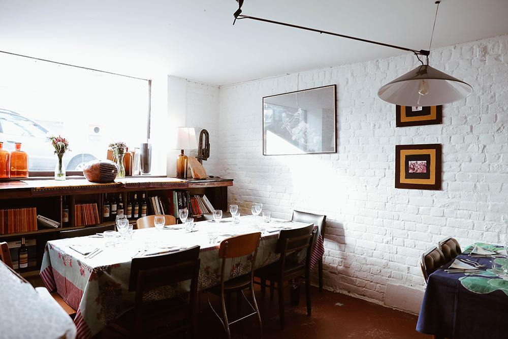 Photo de l'intérieur du restaurant 52 and the Secret Garden