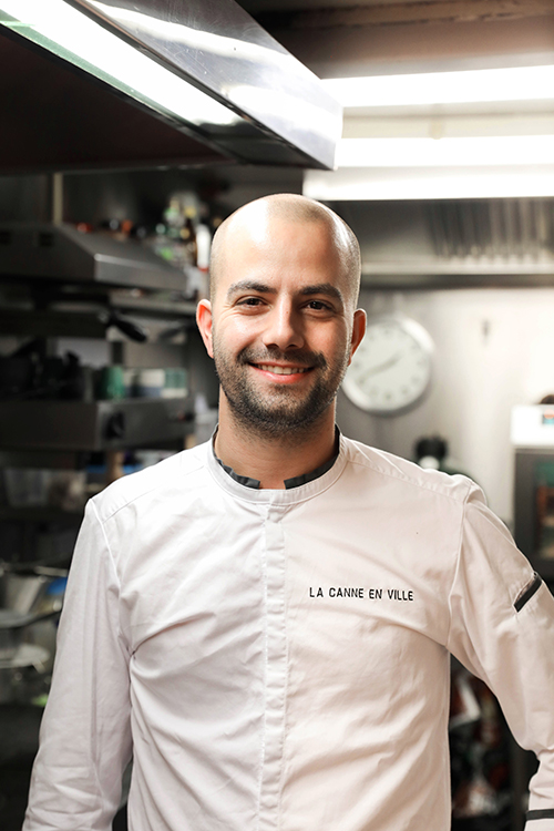 Photo du chef de La Canne en Ville à Bruxelles: Kevin Lejeune