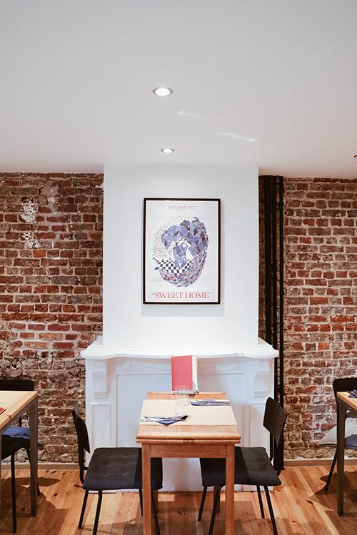 Photo du restaurant le Petit Racines à Ixelles