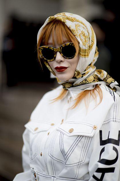 foulard paris fashion week
