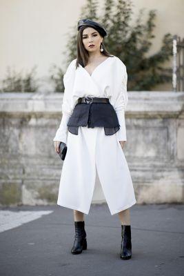 ceinture gaine paris fashion week