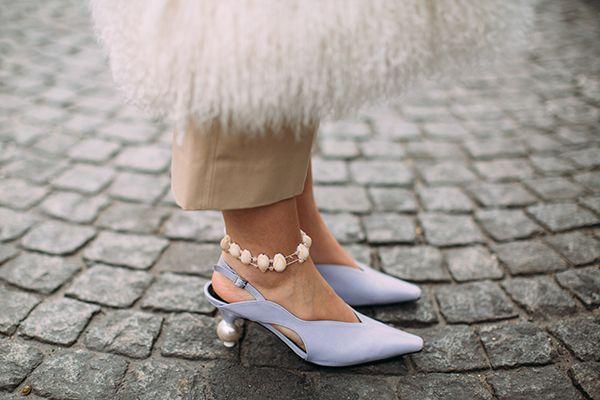 talons en perles paris fashion week