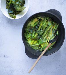 Curry de légumes aux algues wakame de Sarah Cisinski