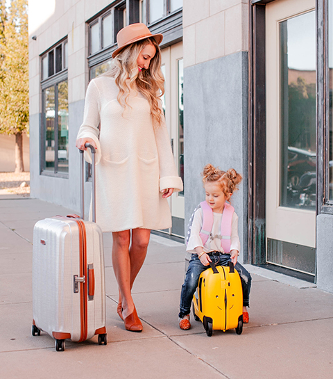 Samsonite Dream Rider : quand voyager avec les kids est un jeu d'enfant