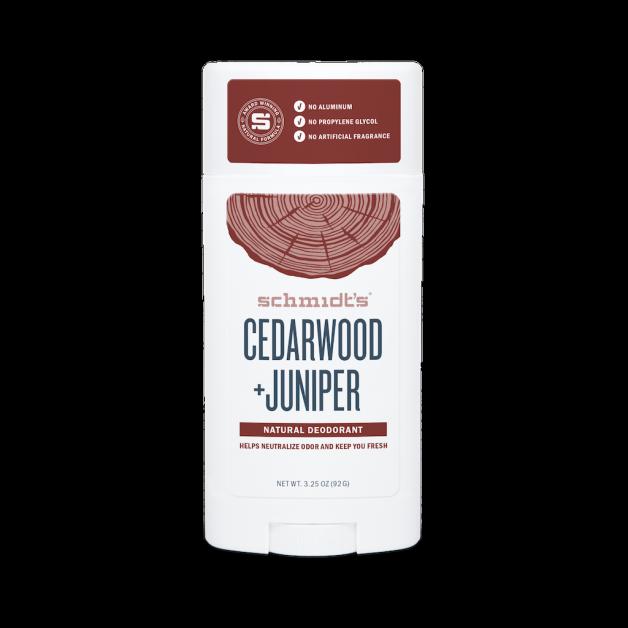 Schmidt's Naturals déodorant naturel bois de cèdre