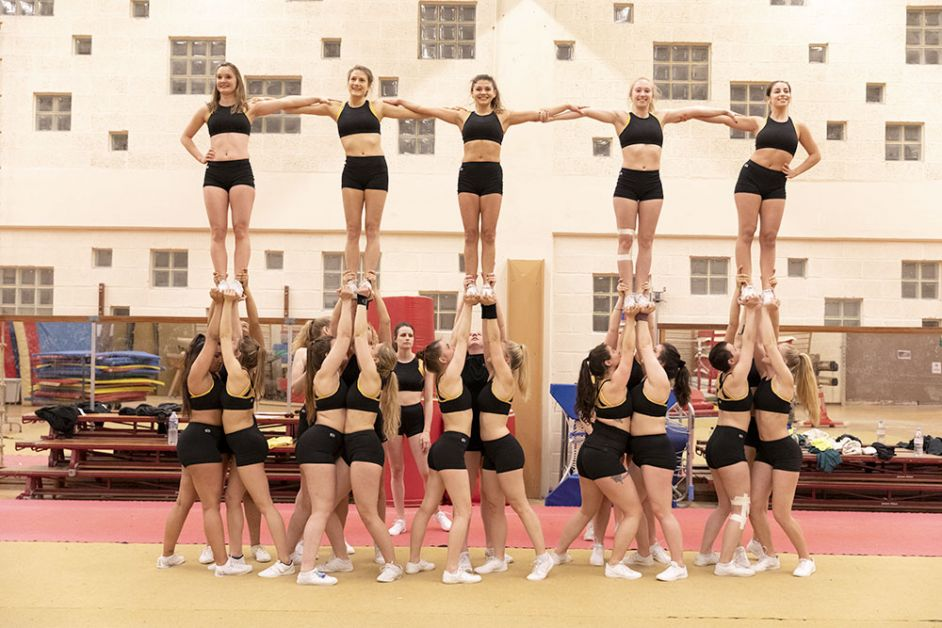 portés cheerleading belge Athanor Brussels Cheer