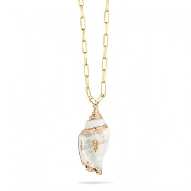 bijoux coquillages collier Mya Bay