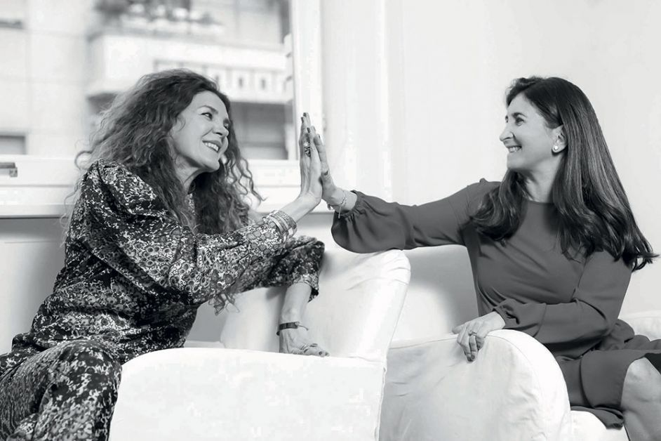 Vinciane Stouvenaker et Eleonora Pujia de coccinelle