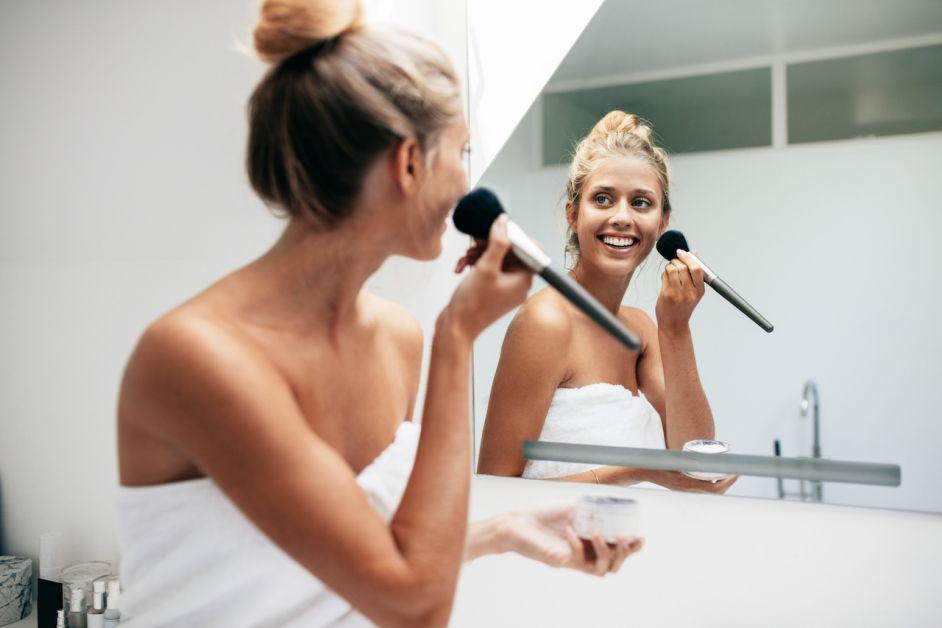fabriquer cosmétiques DIY poudre maquillage