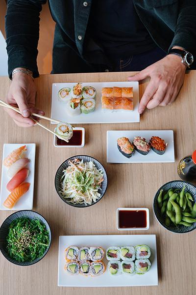 sushi de chez sushi oui