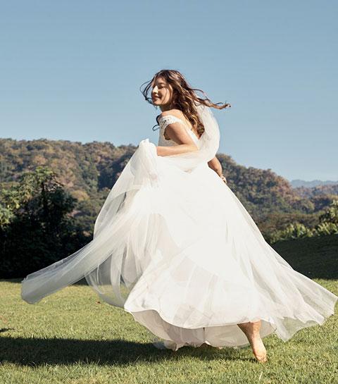 Petits prix: quelles sont les plus belles robes de mariée de l'été ?