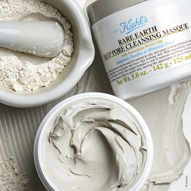 masque argile rare earth kiehl's