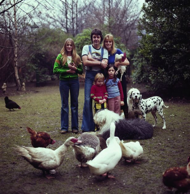 La famille McCartney