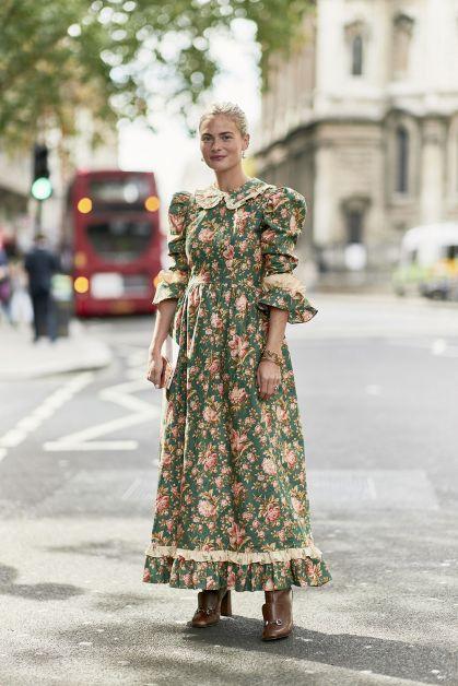Robe à fleurs tendance robe mormone