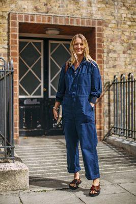 combinaison en jeans