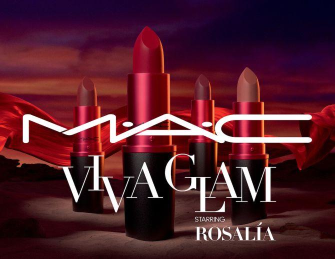 rouge à lèvres Rosalía MAC