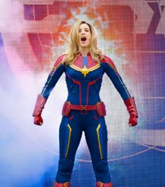 Captain Marvel : l'héroïne Disney 100% Girl power