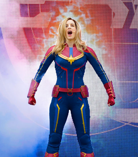 Captain Marvel : l'héroïne Disney 100% Girl power