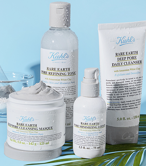 Kiehl's revisite son célèbre masque à l'argile en version green