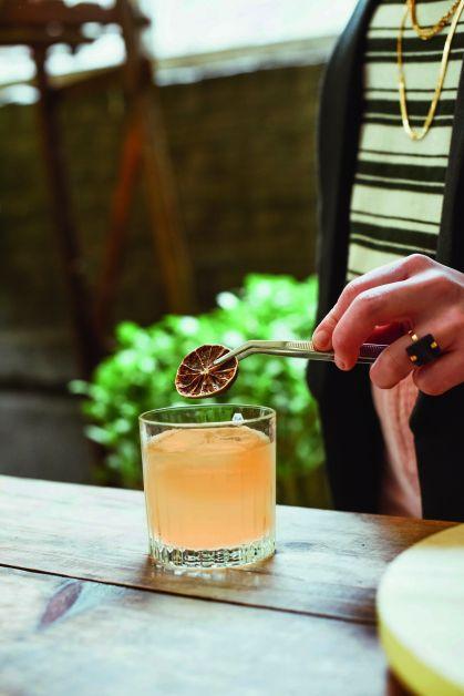 Mocktail citronnelle & piment